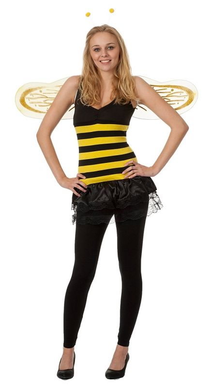 Come pensi di vestirti per Carnevale? Noi ti proponiamo un carinissimo costume da ape accessoriato da ali! SEGUICI ANCHE SU TELEGRAM: telegram.me/cosedadonna