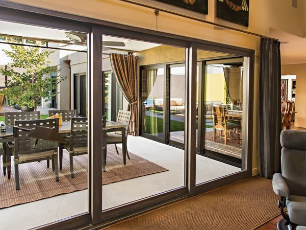 Elegant Sunroom Sliding Glass Doors