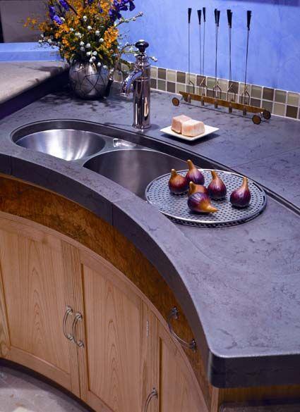 15 best ideas about polished concrete countertops on pinterest white concrete countertops. Black Bedroom Furniture Sets. Home Design Ideas