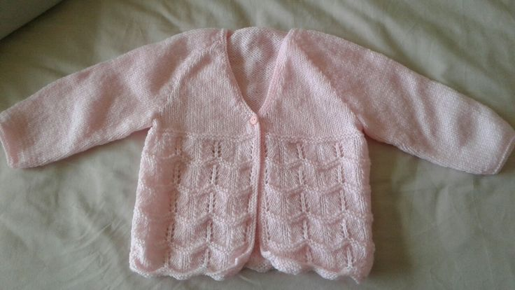 Patons Newborn Collection Book 1303. Leah matinee jacket in 4 ply for Little Sprouts.