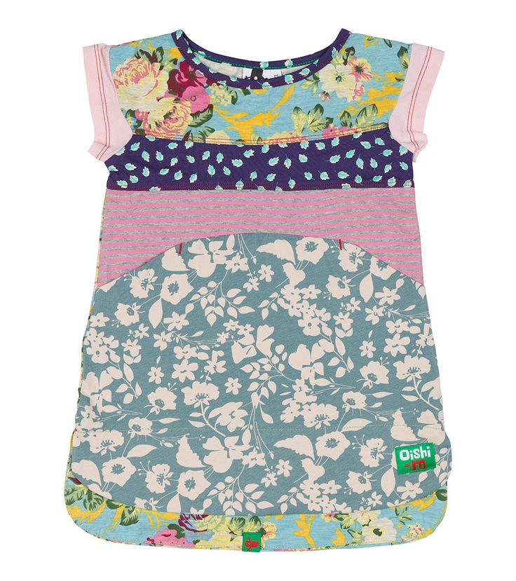 Chateau T Dress, Oishi-m Clothing for kids, Autumn 2016, www.oishi-m.com