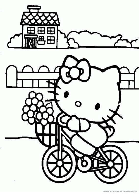 25 best ideas about Ausmalbilder hello kitty on Pinterest  Hallo