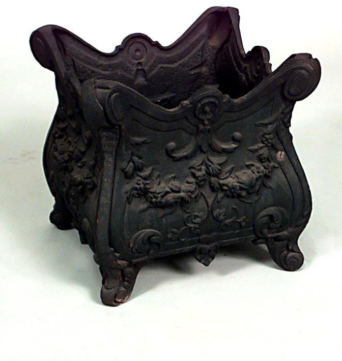 French Victorian accessories jardiniere/cachepot iron
