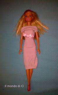 """Il Mondo di Cì: Abiti """"da bambola"""" (Barbie come """"Pretty woman""""...)..."""
