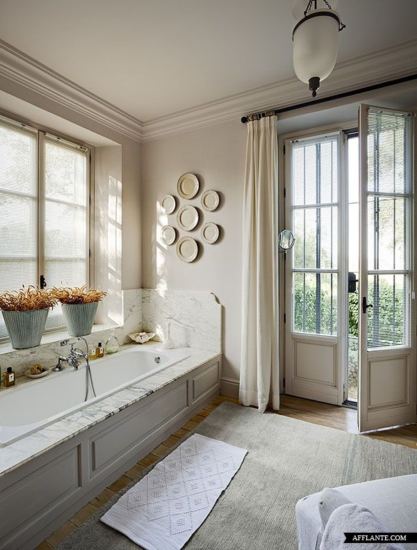 French Windows And Beautiful Doors In This Bathroom Make All The Difference Not So Sure