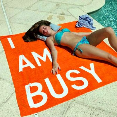 I AM BUSY // I need this beach towel!
