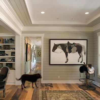 Top 29 ideas about wall trim ideas on pinterest pictures Shiplap tray ceiling