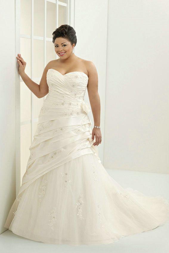 32 besten Plus Size Wedding Dresses Bilder auf Pinterest ...