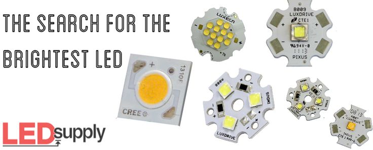 What is the brightest LED? Lumen Outputs and Comparisons