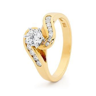 Buy our Australian made Engagement Ring - 0.8 carat - Certified Diamonds - BEE-18Y24513-GIA971 online. Explore our range of custom made chain jewellery, rings, pendants, earrings and charms.