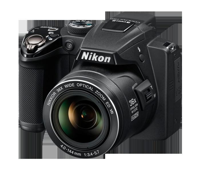 Nikon Coolpix P500 - my new camera!