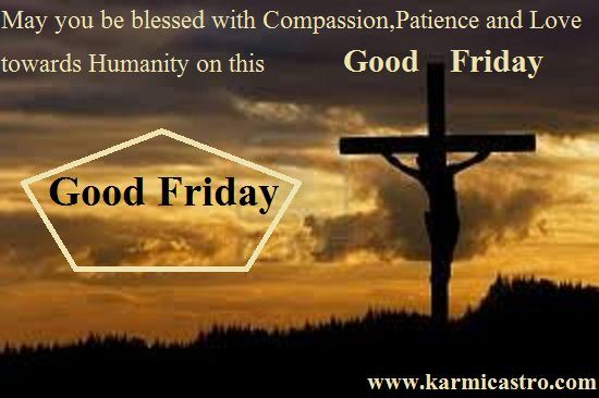 Good Friday Msg