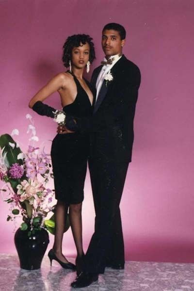 The Most Awkward Celebrity Prom Photos of All Time - Tyra Banks