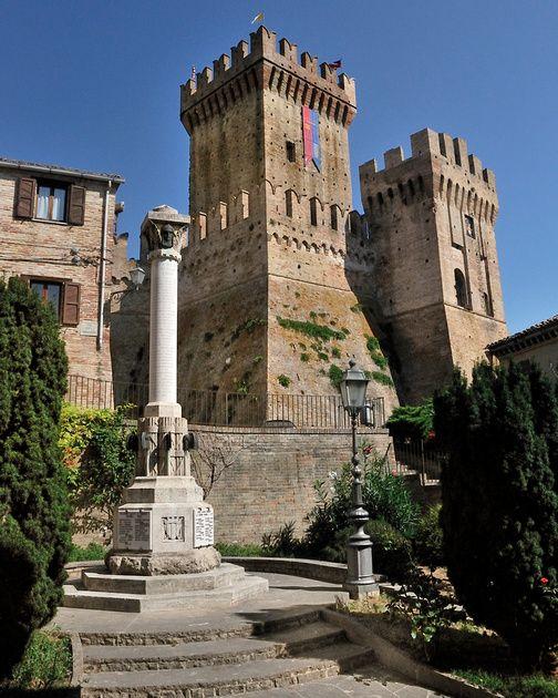 Offagna Castle, Italy