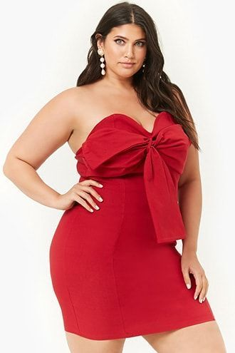 ebe4acb6ea50 Plus Size Best Outfits Of The Week | Curvy women fashion | Strapless ...