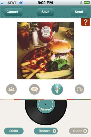 Seemail permet d'enregistrer sa voix sur une image et ainsi raconter l'histoire derrière une photo.