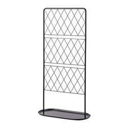 IKEA - BARSÖ, Trellis with base plate, The trellis with base plate helps support potted climbing plants.You can create a cozy, private outdoor space by covering the trellis in plants.