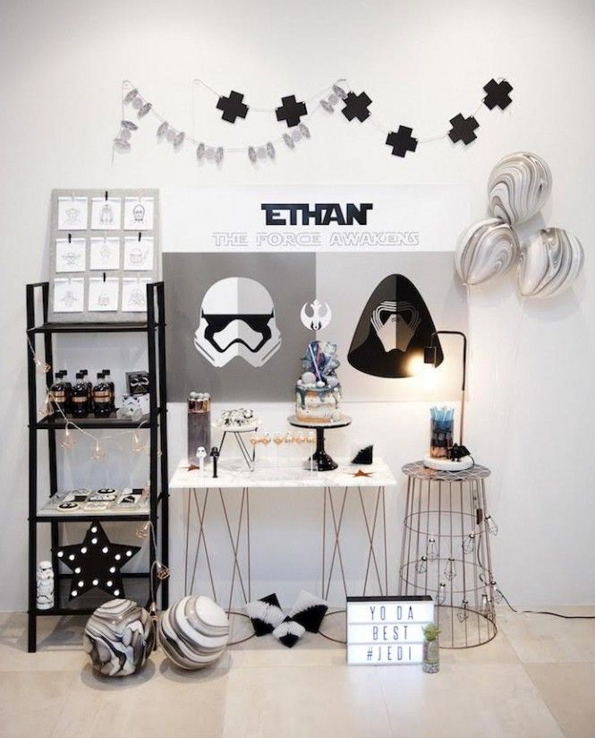 Festa Star Wars por Dream a Little Dream Parties - Get The look no Kikids Party