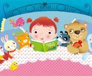 Federica Iossa - Illustrazione Bambino nel letto