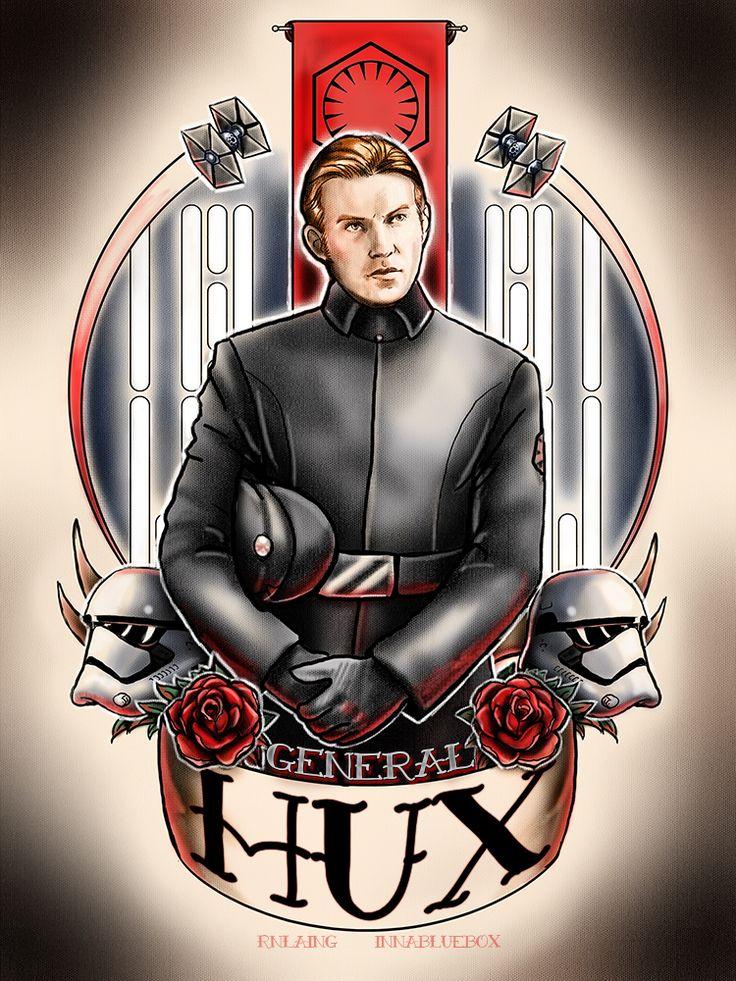 General Hux By Rnlaing General Hux Love Star Wars Art