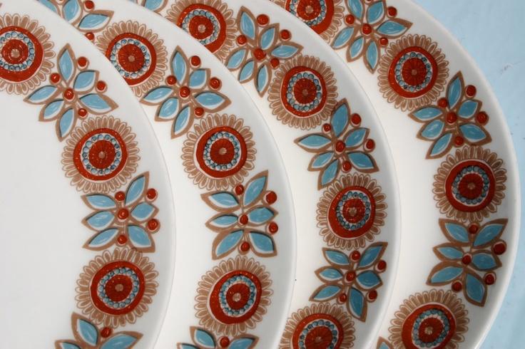 figgjo flint turi plate pattern
