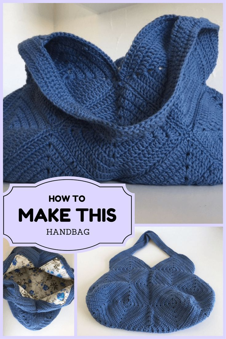 How to crochet a handbag made out of granny squares. Easy and looks fantastik when you are done. Make it personal with colors or different squares.