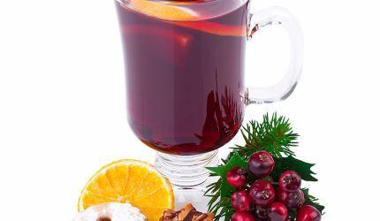 Punč z červeného vína