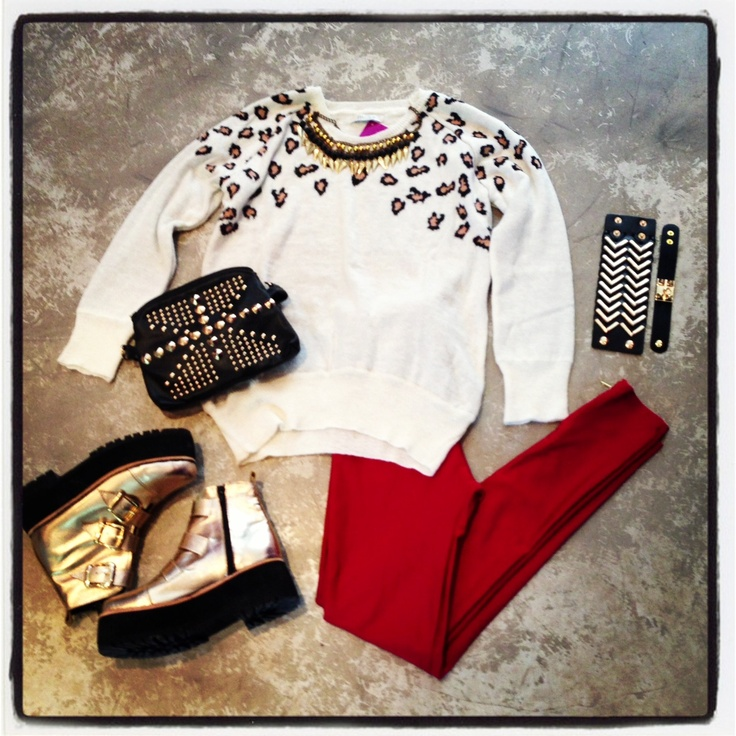 ★ Wishlist #19 PRINT LOOK | Sweater Print | Collar Arrows | Calzas Bordeaux con Cierre | Lennon Vip Gold | Cartera UK | Pulsera Triangle | Pulsera Hermes Chica  ------------------------------------------------------------------------  ★ Wishlist #19 | Print Sweater | Arrows Necklace | Bordeaux Zipper Leggings | Golden Lennon Vip | UK Handbag | Triangle Leather Bracelet | Hermes Bracelet