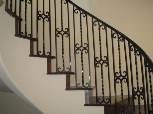Best Stair Rail Antique Iron 90265 Spanish Wrought Iron 400 x 300