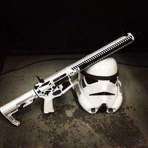Rifle | Stormtrooper helmet | www.Buffalofirearms.com
