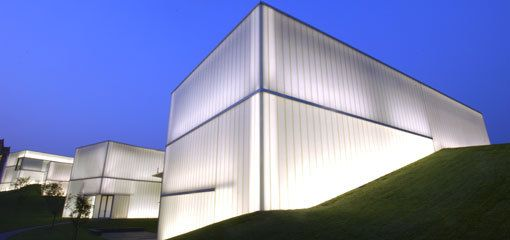 What Is The Type Of Glass The Steven Holl Used On The