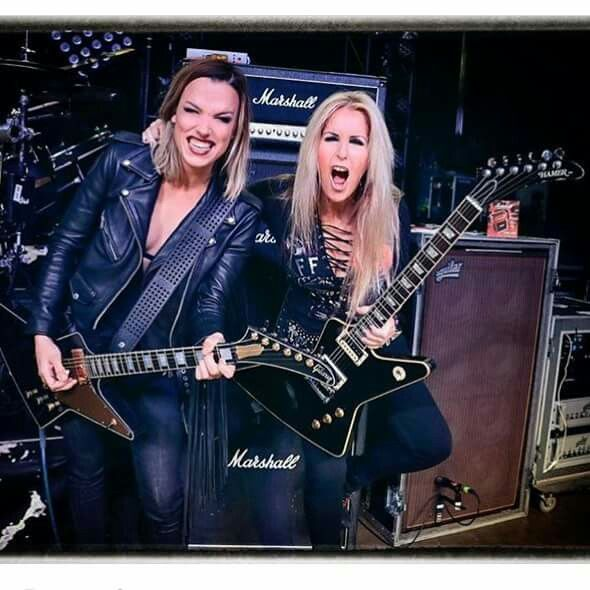 "Lzzy Hale: Front Lady for the band Halestorm, and Lita Ford.  ""Halestorm"""