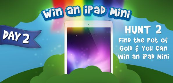 Win ipad mini from @bargainmoose  http://www.bargainmoose.ca/bargainmoose-birthday-contest-part-2-find-the-leprechauns-pot-of-gold-win-an-ipad-mini/?utm_source=Bargainmoose+Daily+Email+Subscribers&utm_campaign=3e7d43613f-RSS_EMAIL_CAMPAIGN&utm_medium=email&utm_term=0_1cb9d9defe-3e7d43613f-24772997