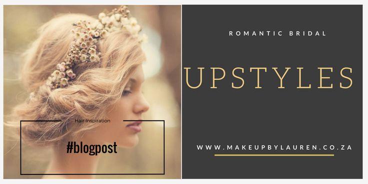 Romantic Bridal Upstyles #inspiration