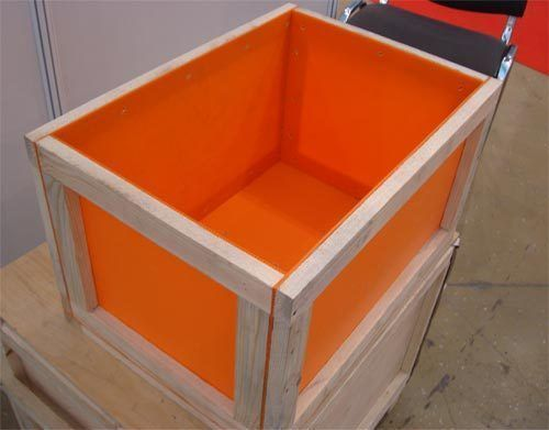 Купить Ящик из полипропилена 520*470*320 мм