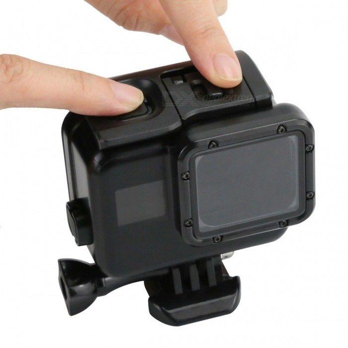 45m Underwater Waterproof Case for Gopro Hero 5 Sport Camera - Black