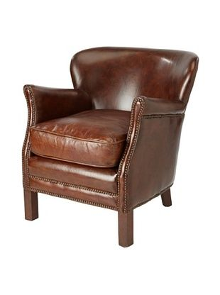 CDI Leather Professor Chair