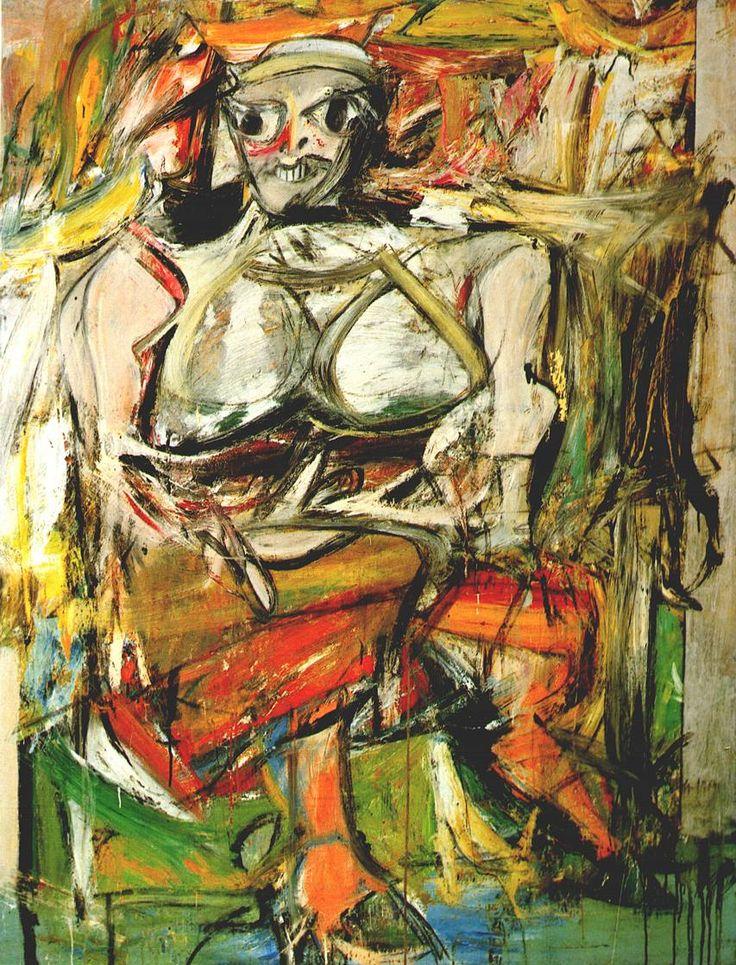Women I, Willem de Kooning, 1950-1952