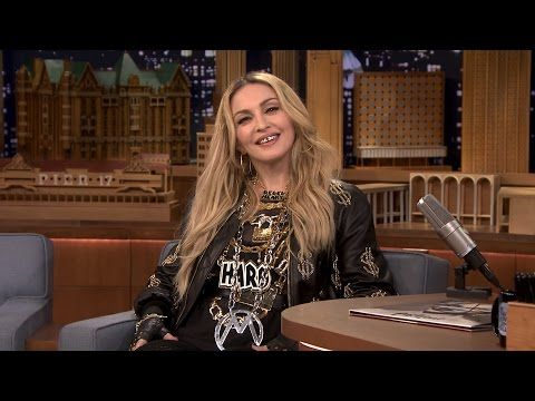 The Tonight Show Starring Jimmy Fallon: Madonna's Kids Keep Her from Being Basic