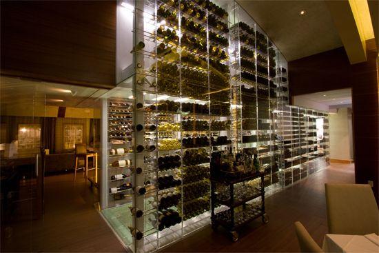 13 best wine coolers images on pinterest - Moderne wijnkelder ...