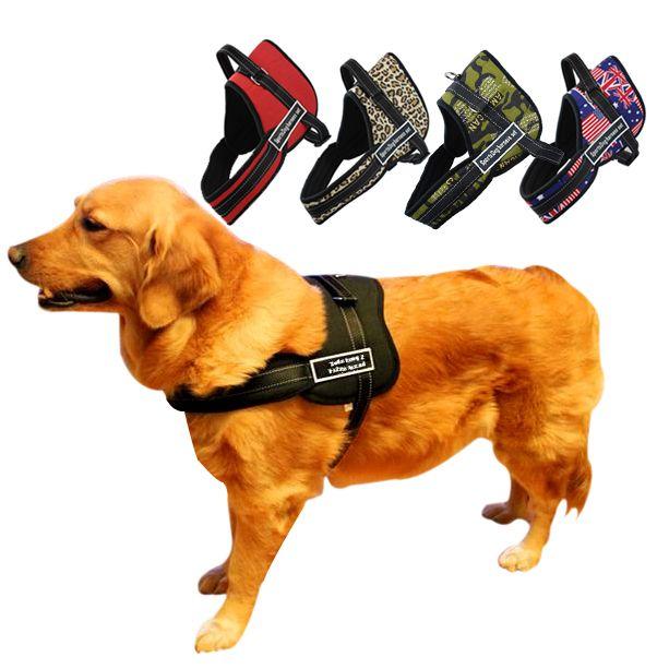 Aliexpress.com: Comprar Nylon para perros mascotas tirando formación arnés de trabajo de deporte de perros pequeños Fit para Husky Pitbull Medium Lage razas de perro de la joyería para las personas fiable proveedores en Star Pets Product Workshop