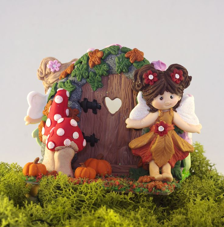 Autumn Fairy Door