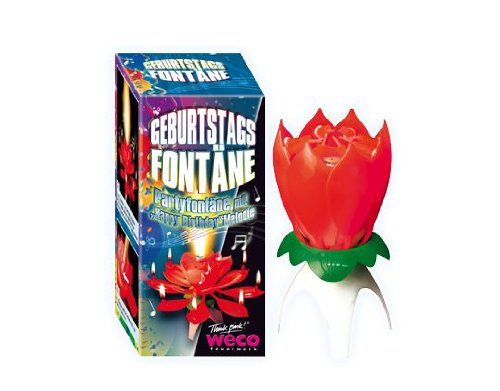 Musical Flower Birthday Candle LOTUS CANDLE: Amazon.co.uk: Kitchen & Home