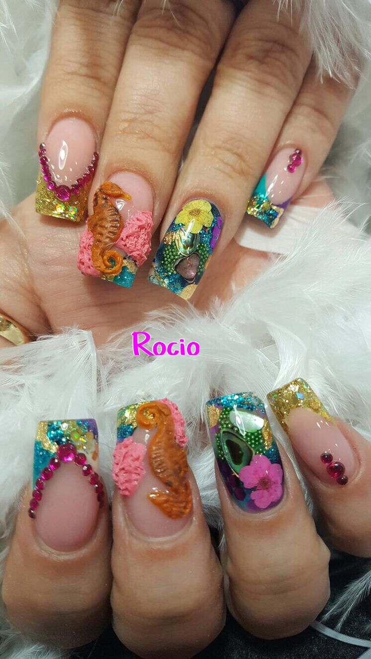 Best 25 encapsulated nails ideas on pinterest acrylic nails encapsulated nails by rocio prinsesfo Gallery