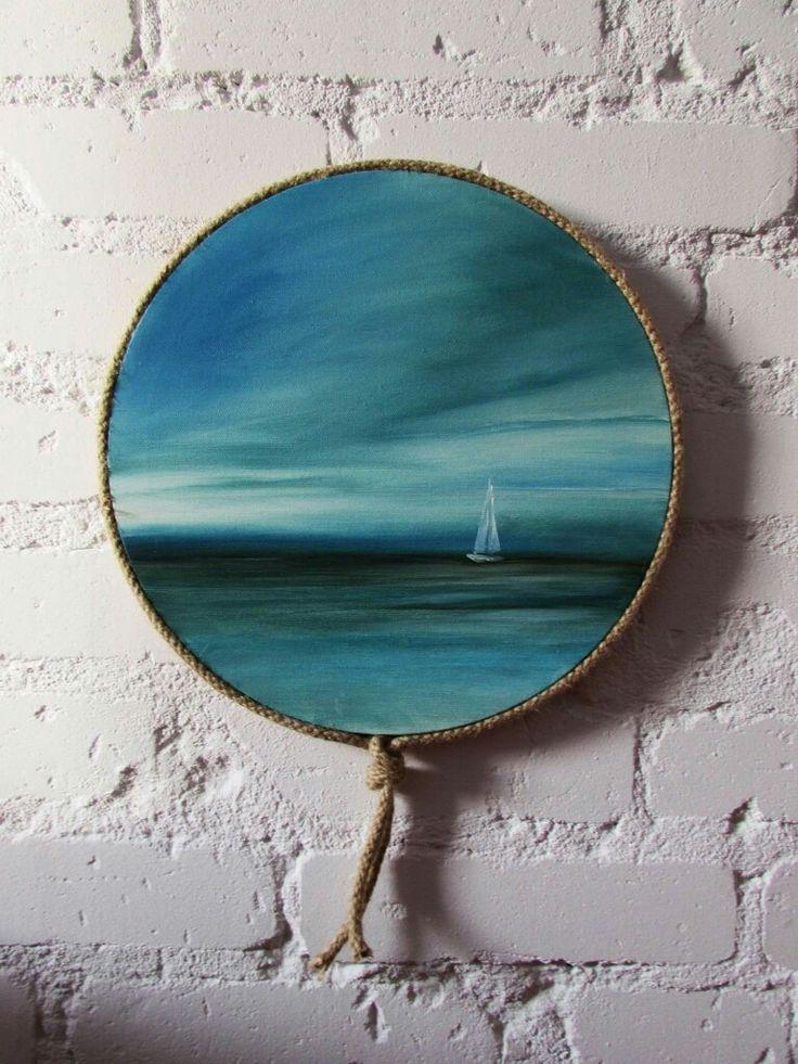 Obrazy olejne Sylwia Michalska, marynistyka, marina