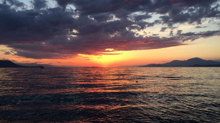 Burning sky. #greece