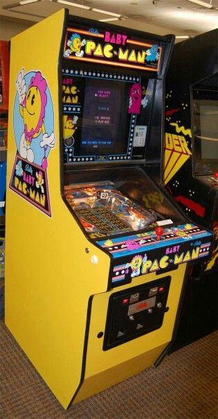 Baby Pac-Man arcade game