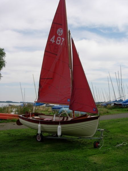 Tideway 12 Deluxe Sailing Boats for sale in Rutland, East Midlands :: Boats and Outboards