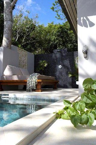 Each bedroom has its own plunge pool and sunlounge - Myola Villa, Luxury 2 bedroom Dramatic Ocean Views -  - rentals