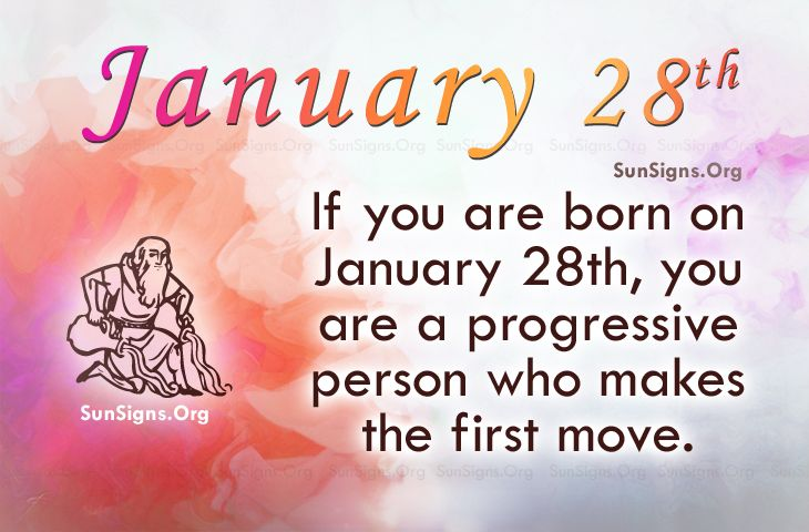 january 28 bday astrology